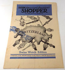 1947 Guide to Buying Swiss Watches for Sale at US PX Stores In Europe