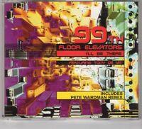 (HE786) 99th Floor Elevators, I'll Be There - 1996 CD