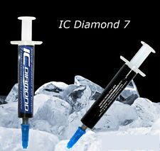Set of 2 ~ IC Diamond 7 Carat Thermal Compound 1.5 Grams by Innovation Cooling