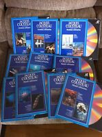 JACQUES COUSTEAU - JOB LOT LOTE 5 X LASER DISC LD - MUNDO Y AVENTURA SUBMARINA