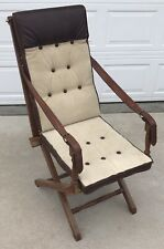 Newland, Tarlton & Co Douro Safari Chair Vintage High Tall Back