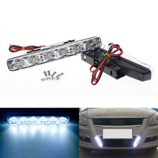 2x Xenon White Super Bright DRL Daytime Running Driving Lights Fog Lamps 6 LED