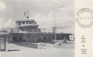 RAND AIRPORT AIR STATION, SOUTH AFRICA  1936 EMPIRE EXHIBITION POSTCARD
