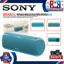 Sony SRSXB21L EXTRA BASS Portable Wireless Party Blue Speaker