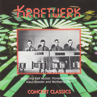 CD KRAFTWERK CONCERT CLASSICS JEWEL CASE ALBUM RARE COLLECTOR COMME NEUF 1998