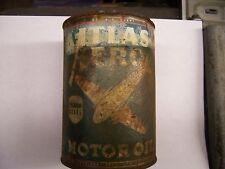 vintage atlas aero quart motor oil can
