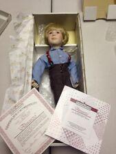 Ashton-Drake Galleries Little House on the Prairie Almanzo Porcelain Doll LNIB!