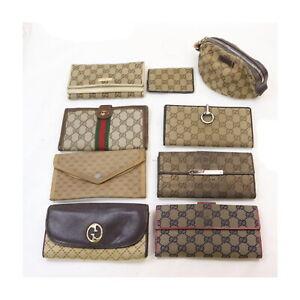 Gucci Canvas PVC Pouch Wallet Wallet Card Case 9 pieces set 523563