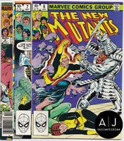 New Mutants #6 #7 #8 VF 8.0 (Marvel) 1983