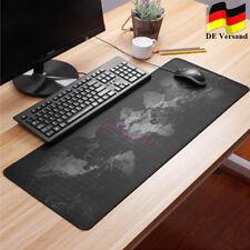 Gaming Mauspad XXL Anti-Rutsch Mousepad Schreibtisch Matte Weltkarte Design DE