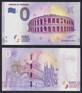 Banconota Turistica da 0 euro 2017 FDS/UNC (Arena di Verona)  C-10