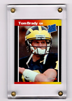 TOM BRADY  'RATED ROOKIE CARD BY ACEO-RP'  2000  DRAFTED AS QUATERBACK