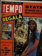 TEMPO N. 26/27 GIUGNO 1970 PRIMA EDIZIONE AA.VV. ALDO PALAZZI EDITORE 1970