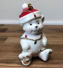 Lenox Ornament Very Merry Bear Ornament