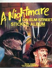 A Nightmare on Elm Street Sticker Album     1984     Freddy Krueger