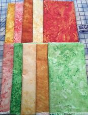 Stonehenge Fabric by Northcott, 10 Half Yard Pieces