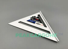 7-inch Rafter Square Premium Aluminum Angle Quick Laser Etched Triangle Rule