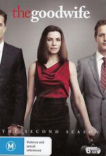 THE GOOD WIFE Season 2 - DVD R4  - PAL