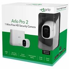 NETGEAR Arlo Pro 2 Smart Home HD Security 1 Camera System Kit Wire Free VMS4130P