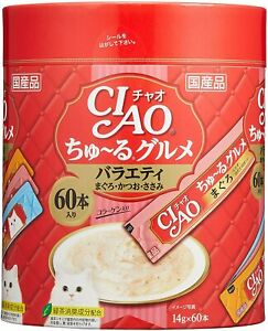 Chao (CIAO) Ru snack Ju - for cats gourmet variety 14g × 60 pieces