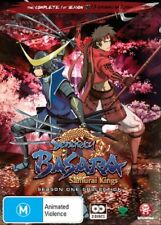 Sengoku Basara - Samurai Kings : Season 1 (DVD, 2010, 2-Disc Set)-FREE POSTAGE