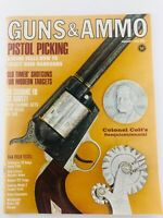 Vintage GUNS & AMMO Magazine January 1966 Pistol Picking