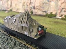 Tarped Machinery Load 77x24x32mm HO 1/87 Unpainted Cast Resin
