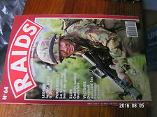1µa Revue Raids n°64 Daguet 14/07/1991 / 13e DBLE Djibouti Altiplano Garde Croat