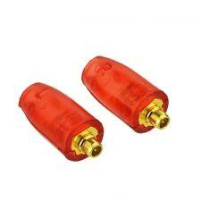 1Set MMCX plug dorato connettore dritto Rosso Shell per Shure SE315 AURICOLARE