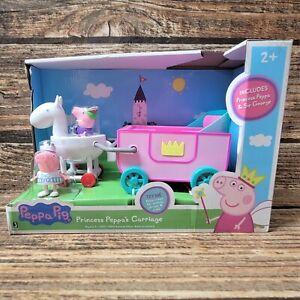 Peppa Pig Princess Peppa's Carriage Jazwares Toys-R-Us Exclusive Rare New