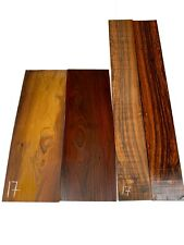 Figured Cocobolo Rosewood Classical Guitar Back & Side Set Luthier Tonewood #17