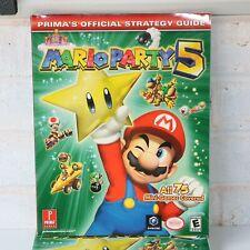 PRIMA'S Offiziell Strategie Guide Für Mario Party 5 Gamecube Spiel - Neu
