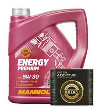 5L Mannol Premium 5w30 Fully Synthetic Longlife Engine Oil + Ester Oil Additive