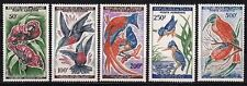 Tschad Tchad 1961/63 Mi.Nr. 82-86 Vögel Birds **
