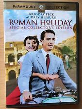 Audrey Hepburn Gregory Peck ROMAN HOLIDAY ~ 1953 Romantic Classic US 1 DVD