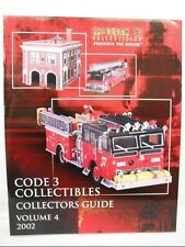 CODE 3 COLLECTIBLES COLLECTORS GUIDE 2002 VOLUME 4 CATALOG 21 PAGES FDNY CHICAGO