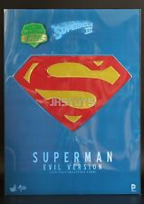 Hot Toys 1/6 Superman 3 III Evil Version Christopher Reeves MMS207 EMS