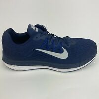 Nike Zoom Winflo 5 Men's Size 13 Blue Running Jogging Walking Low Athletic Shoes
