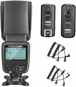 Corresponding to Neewer NW-561 LCD flash Speedlite set Canon Nikon and other DSL