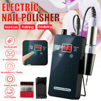 30000RPM Cordless Electric Nail Drill Art Pen Machine Manicure Pedicure