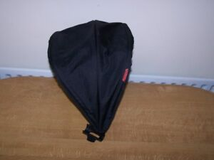 PHIL AND TEDS EXPLORER BUGGY 2ND SEAT HOOD-BLACK=