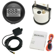 2inch GPS 0-999 MPH Speedometer Digital Speed Gauge Boat Car SOG TRIP COG ODO