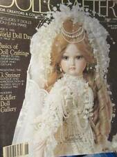 Doll Crafter June 1990 Magazine With Bridal Gown Pattern