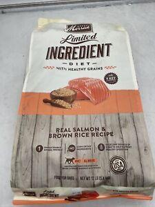 Merrick Limited Ingredient Diet Dry Dog Food Real Salmon & Brown Rice Recipe ...