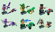 Kreo Transformers Micro Changers Minifigures Mystery Packs- Bundle of 6 Mystery