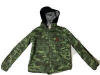 Wonder Nation Zip Up Hoodie Camo Jacket Youth XXL(18)