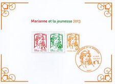 BLOC FEUILLET N° 133 NEUF XX  LUXE - MARIANNE DE LA JEUNESSE DE 2013