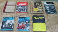 Lot of 7 Vintage How to Books Includes How to make good movies etc..Vintage