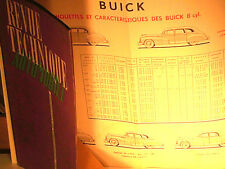 BELLE REVUE TECHNIQUE ORIGINALE 06 1949 BUICK V8 1942/49 TYPES 40/50/60/70/90