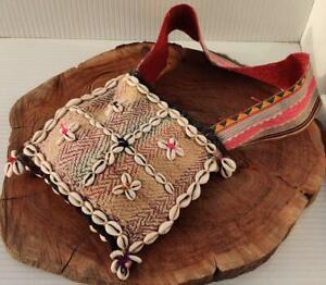 BANJARA NEW KUCHI COWRIES ETHNIC TRIBAL TASSEL BOHO SHOULDER BAG